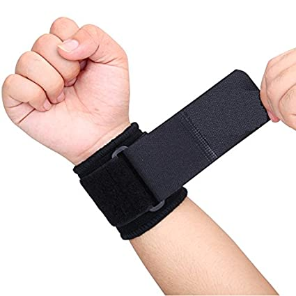 Buy Deepak Enterprise Gym Wrist Fitness Band Adjustable Support Online at  Low Prices in India - Amazon.in