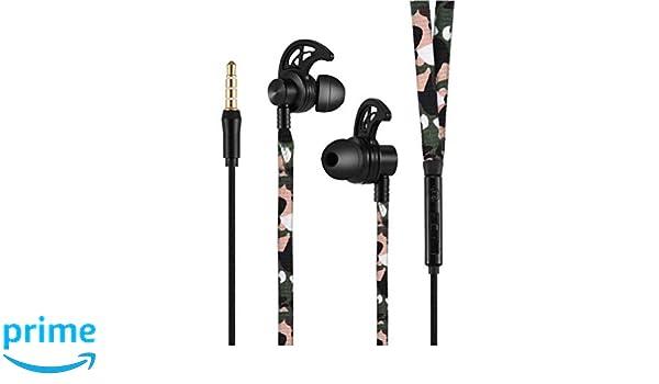 Auriculares OnePlus 6 con microfono in-Ear Estereo Cascos OnePlus 6 Auriculares con Cable OnePlus 6 Control Volumen cancelacion Ruido Auriculares micrófono ...