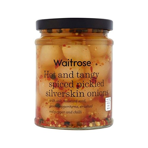 Spiced Pickled Onions Waitrose 295g - Pack of 6