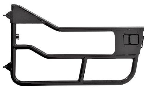 Bestop 51826-01 Matte Black HighRock 4X4 Element Door Set for 2007-2018 Wrangler JK 2-Door and Unlimited - Front doors