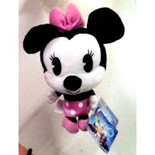 Xbox 360 Disneyland Adventures Game Kinect Minnie Mouse Plush DLC Code
