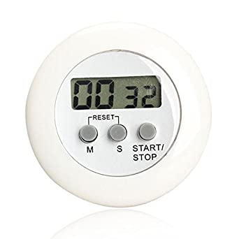 Mini Timer   Clip Timer   Timer With Clip   Countdown Timer Clock   Round  Magnetic
