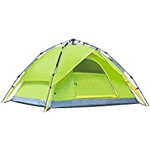 Large Pop Up Camping Hiking Tent Automatic Instant Setup Easy