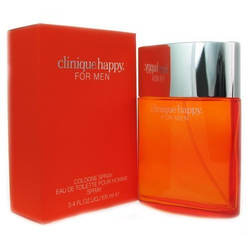 Happy By Clinique For Men. Cologne Spray 3.4 Ounces (Clinique Happy Cologne For Men)