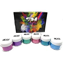 Stardust Mica Soap Making Pigment Powder Cosmetic Grade Colorant for Makeup, Resin, Epoxy, DIY Crafting Projects, Bright True Colors Stable Micas Batch Consistency Tested Color Set #3