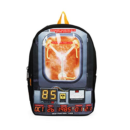 Mojo Back To The Future Lite 3D Backpack Tech School Bag