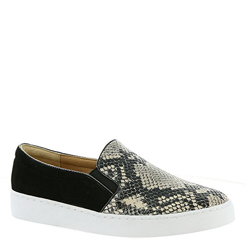 Vionic Womens Midi Slip-On Natural Snake Sneaker - 7 by Vionic