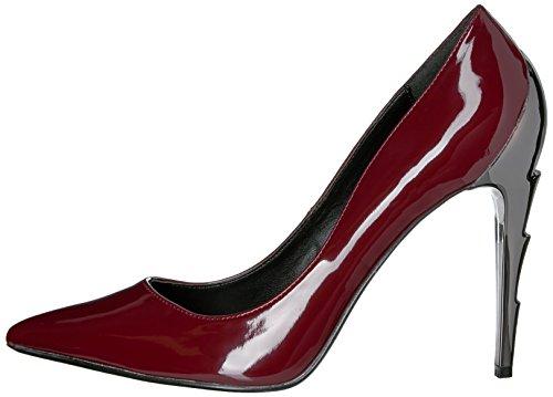 Para Burgundy Mujer Pleaser De Pat Vestir Zapatos BvwBtxqZ