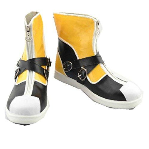 [Kingdom Hearts II 2 1st Version Sora cosplay costume Boots Boot Shoes Shoe] (Hearts Costumes Shoe)