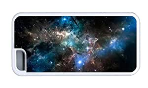Hipster design iPhone 5C cover space sparkling stars TPU White for Apple iPhone 5C