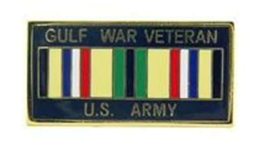 EagleEmblems Army Gulf War Veteran Lapel Pin 1