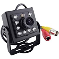 Vanxse Cctv Mini Spy 3.6mm Security Camera 1/3 Sony CCD 800tvl 8ir Leds Hd Hidden Mini Cctv Surveillance Camera