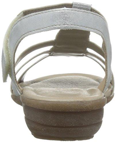 R3637 Argento T ice silber Con Sandali Chiusura Remonte Donna A P41UwPx