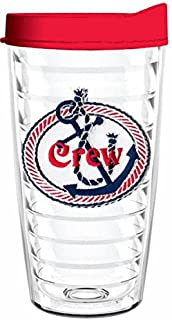 product image for Smile Drinkware USA-CREW 16oz Tritan Insulated Tumbler With Lid and Straw