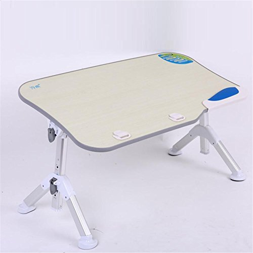 Muzyo Simple Laptop Table Student Dorm Computer Desk Folding Simple Bed Small Table, 4 by Muzyo
