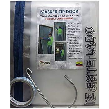 Homax Products 6025 Cinchtite Peel N Stick Tarp Zipper