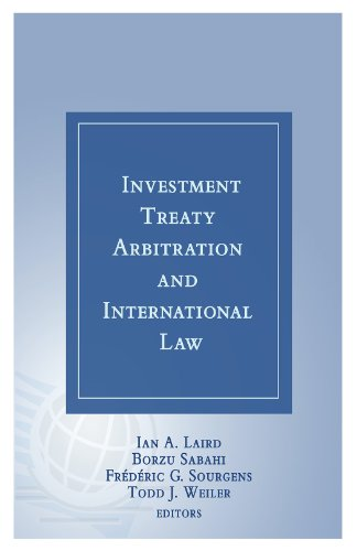 Investment Treaty Arbitration and International Law - Volume 6