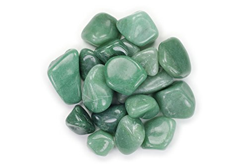 (Hypnotic Gems Materials: 1/2 lb Green Aventurine Tumbled Stones AA Grade from Brazil - Bulk Natural Polished Gemstone Supplies for Wicca, Reiki, and Energy Crystal HealingWholesale Lot)