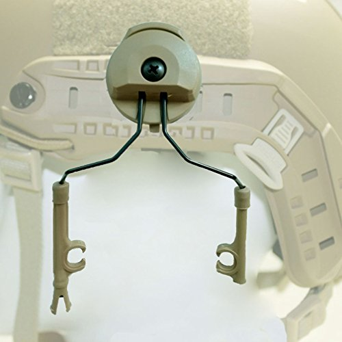 Hlhsport Peltor Comtac I/II ARC Adapter Set Helmet Picatinny