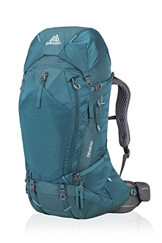 Gregory Mountain Products Women's Deva 60 Liter Backpack, Antigua Green, Small ()