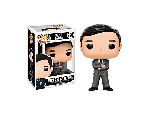 Funko Pop! Movies The Godfather Michael Corleone #390 (Grey Suit Exclusive) - Exclusive Suit