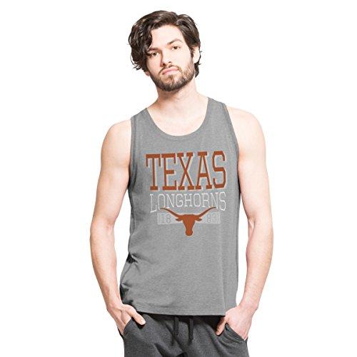 2014 Texas Longhorns Football - NCAA Texas Longhorns Men's '47 Forward High Point Tank Top, Shift Grey, XX-Large