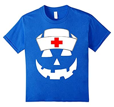 Official Halloween Pumpkin Nurse Funny T-Shirt