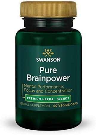 Swanson Pure Brainpower Veg Caps product image