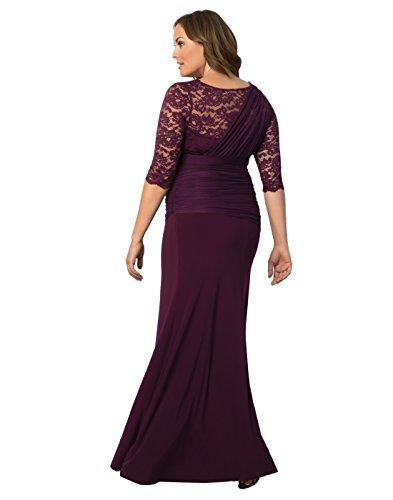 Kiyonna Women\'s Plus Size Soiree Evening Gown