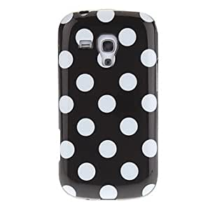 ZCL Protective Polka Dot Pattern TPU Back Case for Samsung Galaxy S7562 , Green
