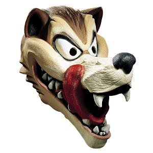 Hungry Wolf Cesar Deluxe Latex Mask Costume Mask (Mask Adult Latex Deluxe Wolf)