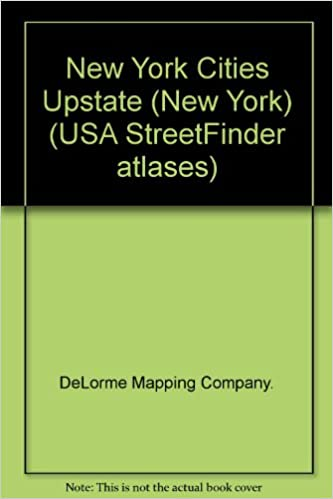 New York On Usa Map.Upstate New York City Street Maps Usa Streetfinder Atlases