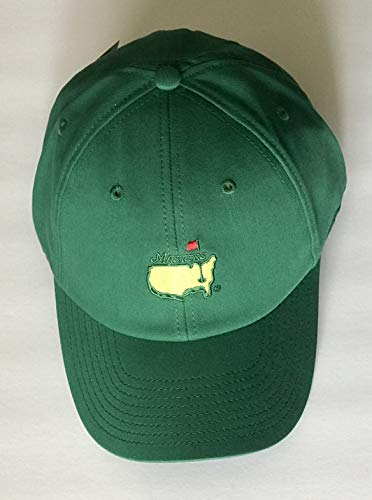 2019 Masters golf hat green performance caddy hat new pga