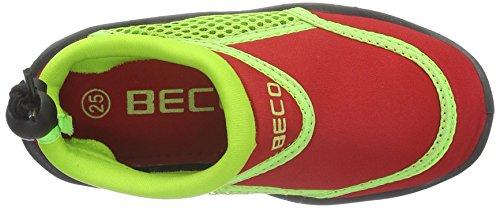 Beco-Escarpines Beco Surf Niños easyfeet Rojo - rojo