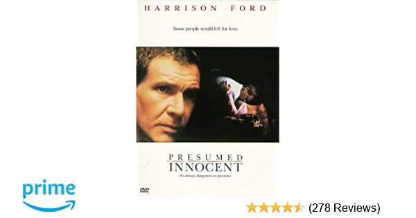 Amazon com: Presumed Innocent: Harrison Ford, Raul Julia