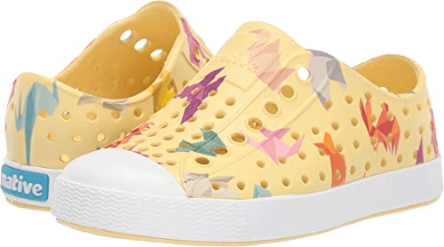 - Native Kids Shoes Unisex Jefferson Print (Toddler/Little Kid) Gone Bananas Yellow/Shell White/Origami 13 M US Little Kid