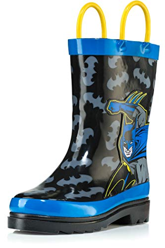 DC Comics Batman Boy's Rain Boots - Size 7 Toddler