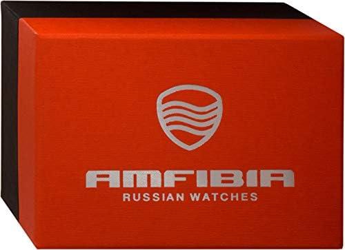 2019 Vostok AMFIBIA Scuba 2415.01 russische Herren-Automatikuhr 200 m WR #076798