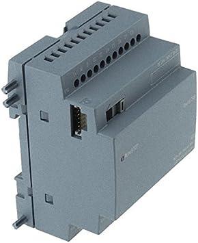 Siemens stlogo - Módulo expansión dm16 24r pu/i/o 24v/24v corriente continua/rele