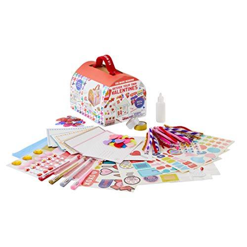 Kid Made Modern Design Your Own Valentines Kit - 24 DIY Valentine