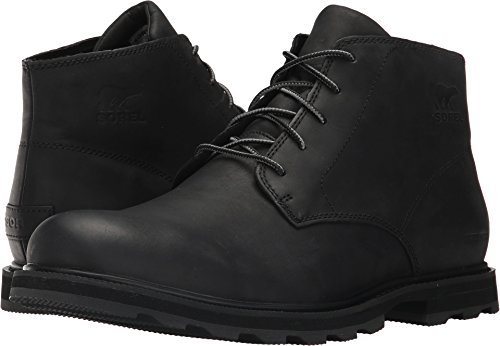 Sorel Madson Chukka Waterproof Boot - Men's Black/Black, 11.0