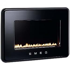 Smeg 50's Retro style, 800 x 186 x 550 mm - Chimenea eléctrica