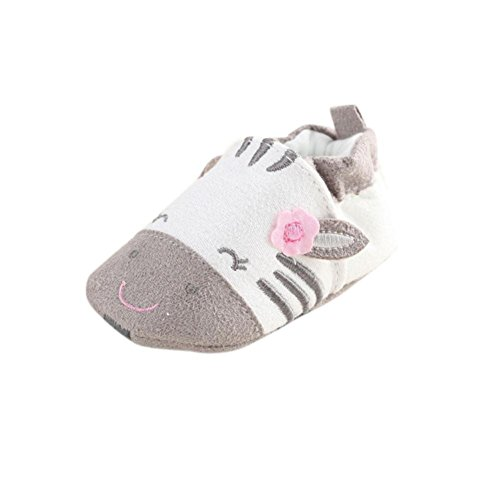 Infant Girl Toddler Shoes,Kimanli Baby Cartoon Soft Sole Cotton Cloth Shoes (0~6 months)