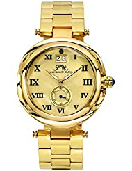 Porsamo Bleu South Sea Stainless Steel Gold Tone Womens Watch 103BSSS