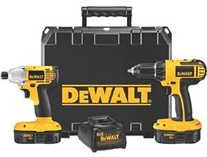 Dewalt - 18V Cordless Combo Kits 18V Compact Drill / Impact Kit: 115-Dc720Ia - 18v compact drill / impact driver combo kit
