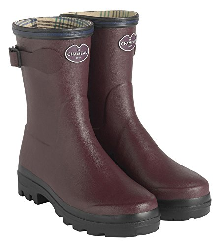 Giverny Boot Lined 1927 Cherry Women's 4579 CHAMEAU Low LE Jersey tRqa0H