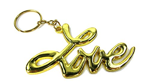 Sex and the City Love Keychain Keyring Keyfob Satc Gold / Silver (Gold) (Love Keychain)