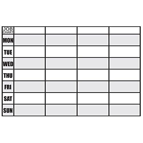 Magnetic Erase Chore Chart Responsibility product image