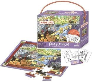 - Madeline Puzzle Plus Activity Set: 63 Pcs by Briarpatch, Thomas