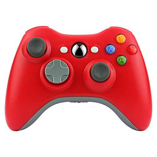 Kycola Xbox 360 Controller SL12 Wireless Controller Xbox 360 Wireless Gamepad For PC/Xbox 360(Red)